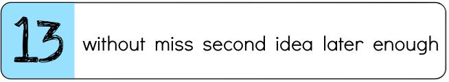 Go to List C, Set 13 Video Lesson
