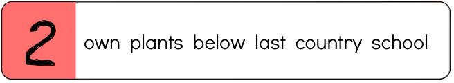 Go to List C, Set 2 Video Lesson
